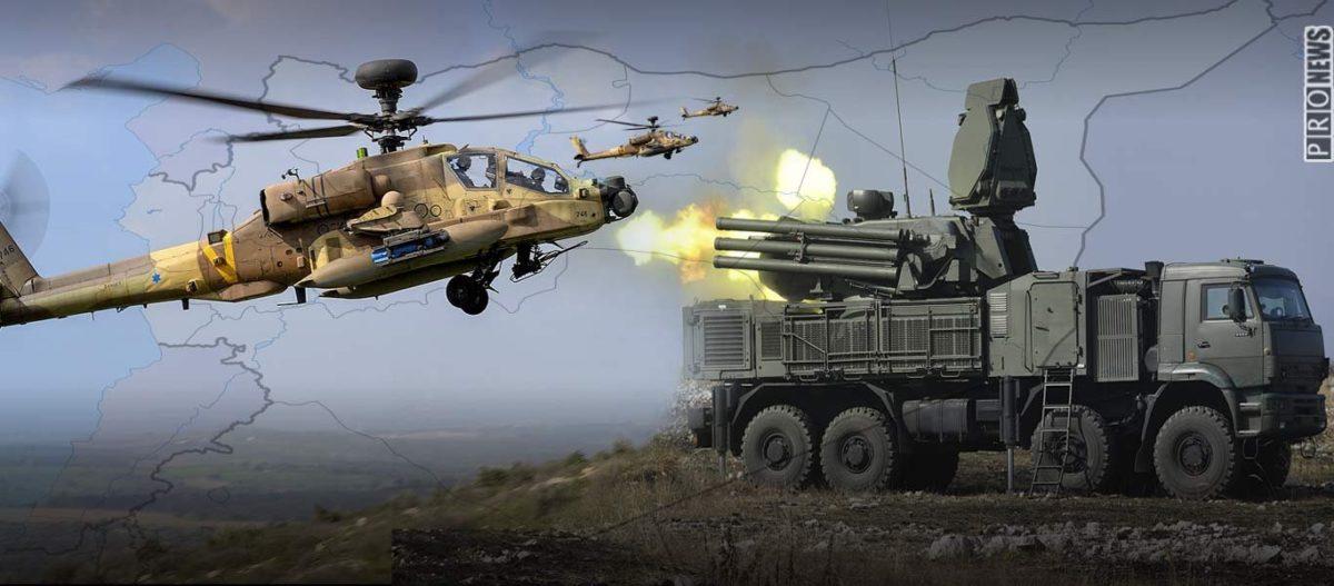 Επιβεβαίωση από Ισραήλ για τις επιδρομές: Έστειλαν AH-64D Apache εναντίον ρωσικών SHORADS!