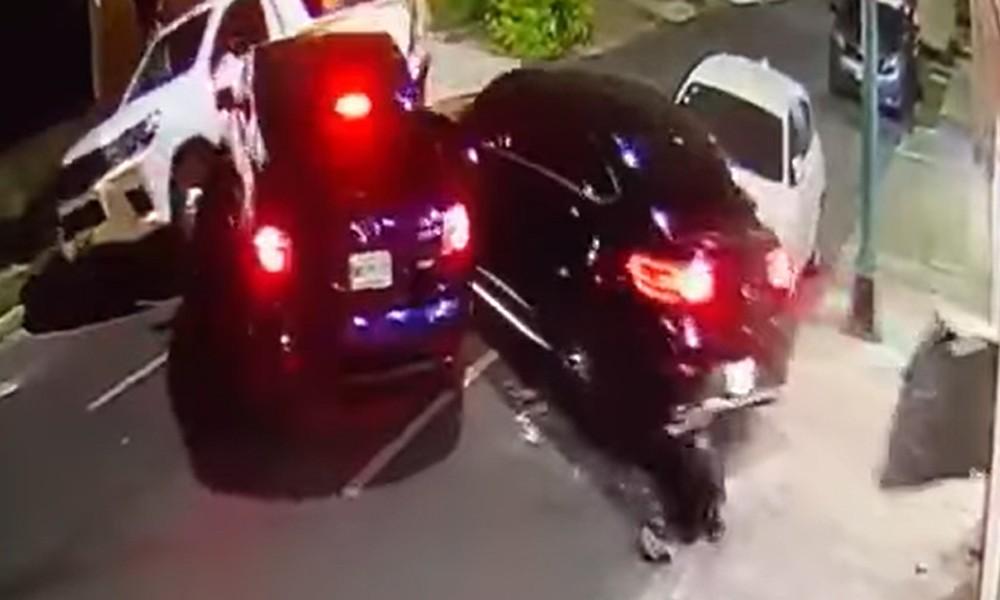 Οδηγός «πατάει» επίδοξους απαγωγείς-κλέφτες