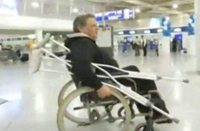 Σε αναπηρικό καροτσάκι ο Χανιώτης ηθοποιός Γιώργος Παρτσαλάκης (pics+vid)