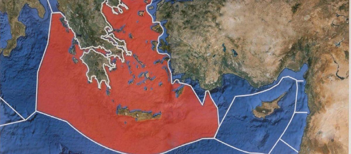 YΠΕΞ προς Άγκυρα και Τρίπολη: «Δεν μπορείτε να συμφωνήσετε για ΑΟΖ – Δείτε τον χάρτη – Υπάρχει η Κρήτη ανάμεσα»