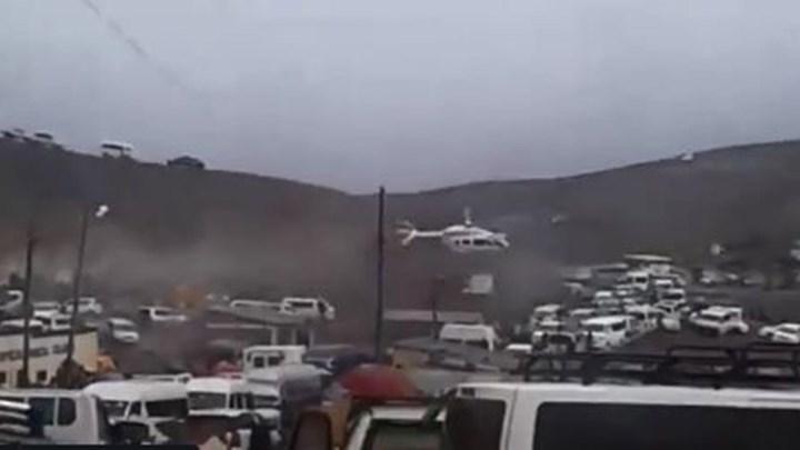 Στιγμές τρόμου για τον πρόεδρο της Βολιβίας – Το ελικόπτερο που τον μετέφερε έκανε αναγκαστική προσγείωση – ΒΙΝΤΕΟ