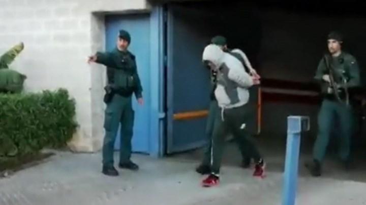 Βίντεο ντοκουμέντο – Η στιγμή της σύλληψης του Κόκε