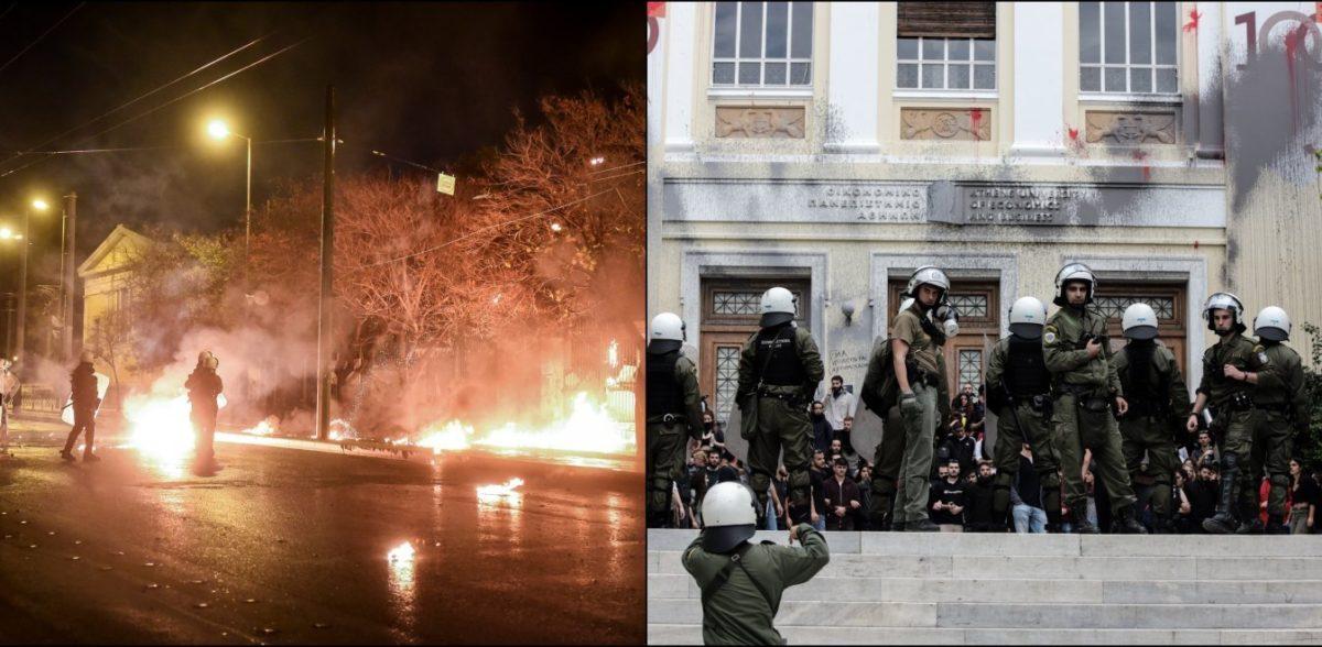 Αστυνομική εισβολή στην ΑΣΟΕΕ: Το πρώτο «ντου» των ΜΑΤ, 24 χρόνια μετά