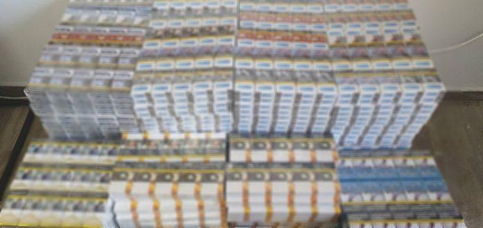 """""""Τσίμπησαν"""" 33χρονο με 6,5 κιλά παράνομο καπνό και 2558 πακέτα τσιγάρα (pic)"""