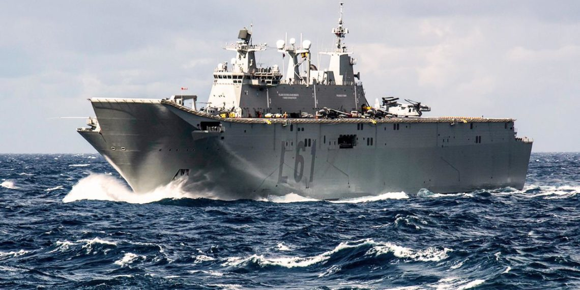 TCG Anadolu: Η ναυαρχίδα του τουρκικού πολεμικού ναυτικού θα τεθεί σε υπηρεσία το 2020 [pics]