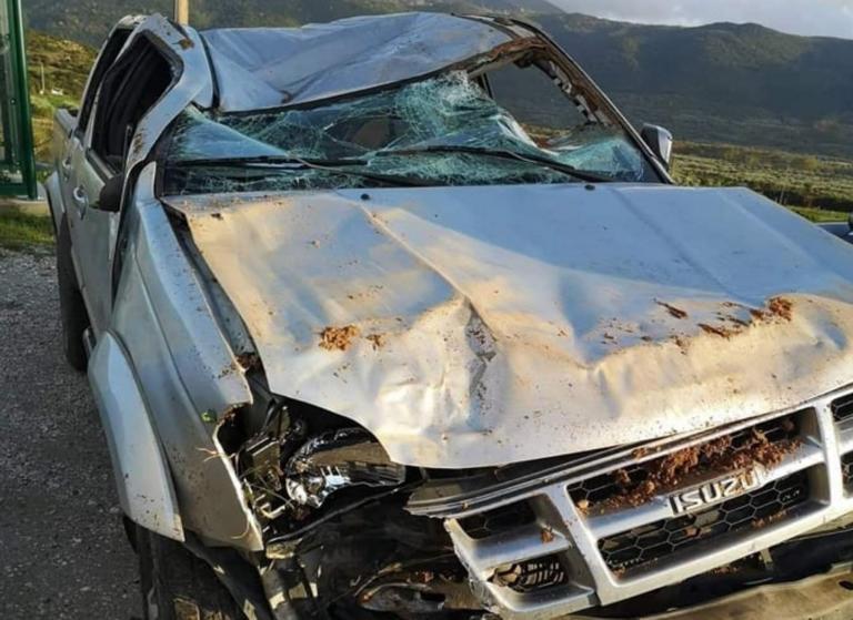 Άγγελος Αναστασιάδης: Σοκάρει η φωτογραφία του αυτοκινήτου μετά το τροχαίο!