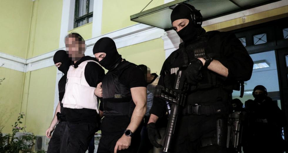 Δίωξη για κακουργήματα κατά των συλληφθέντων από την Αντιτρομοκρατική
