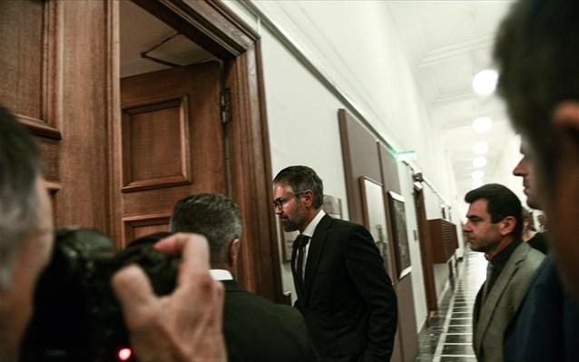 Βουλή-προανακριτική: Καταθέτει ο Κωνσταντίνος Φρουζής
