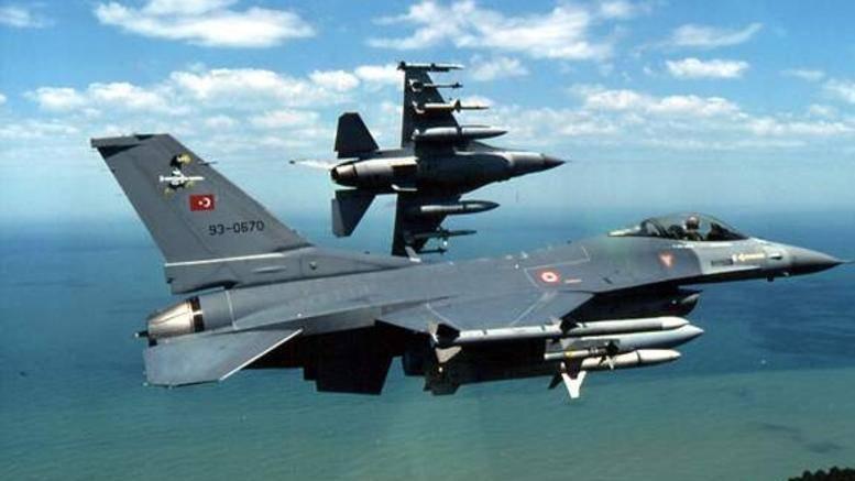 Πάλι πάνω από το Καστελόριζο τα τουρκικά F-16