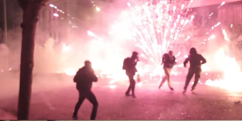 Βίντεο-ντοκουμέντο από τη χθεσινοβραδινή επιχείρηση της αστυνομίας στα Εξάρχεια