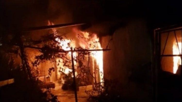 Κρήτη: Ολοκαύτωμα στο σπίτι από τη φωτιά