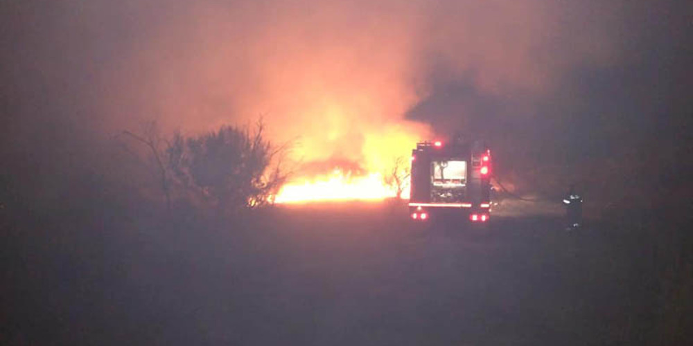 Συναγερμός για φωτιά μέσα στο Κωπηλατοδρόμιο Μαραθώνα