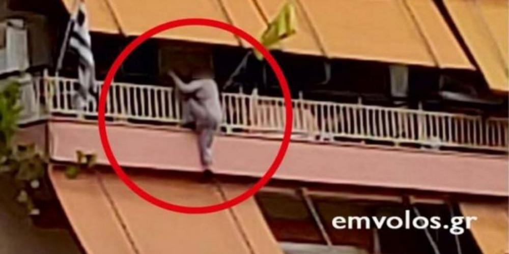 Γυναίκα βρέθηκε… να κρέμεται από το μπαλκόνι του σπιτιού της στην Ημαθία [βίντεο]