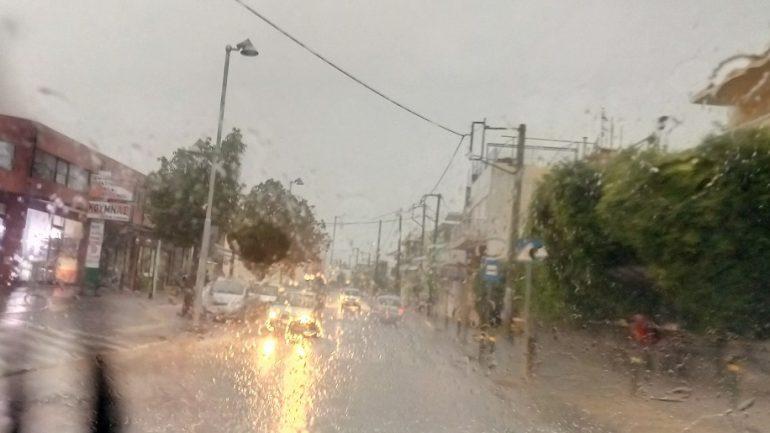 """Η """"Βικτώρια"""" ποτίζει την Κρήτη- Μεγάλα ύψη βροχής τις τελευταίες ώρες"""