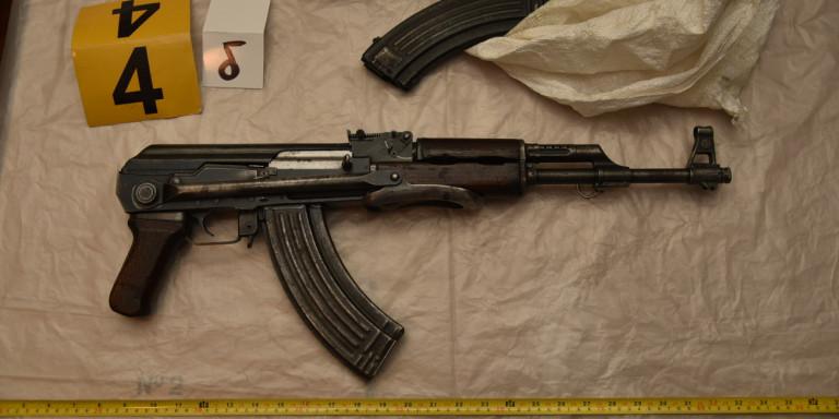 Αντιτρομοκρατική για Επαναστατική Αυτοάμυνα: Ευτυχώς τους προλάβαμε -Αυτά είναι τα όπλα τους