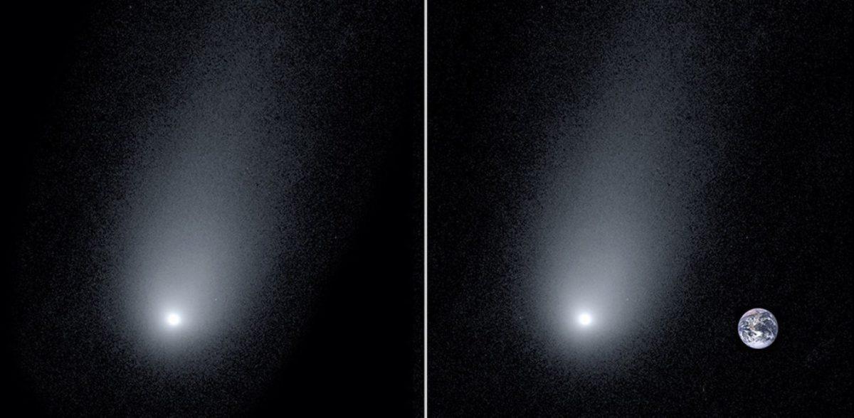 Ντοκουμέντο από τον κομήτη που έχει ουρά 14 φορές μεγαλύτερη από τη Γη