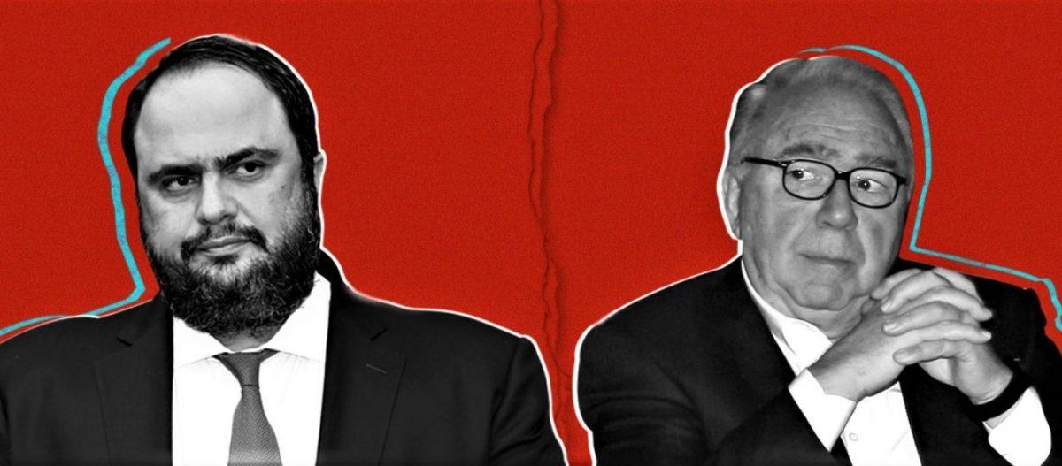 Ολοκληρωτικός πόλεμος ξέσπασε μεταξύ Ε.Μαρινάκη και Σ.Κόκκαλη με επίκεντρο τον Ολυμπιακό