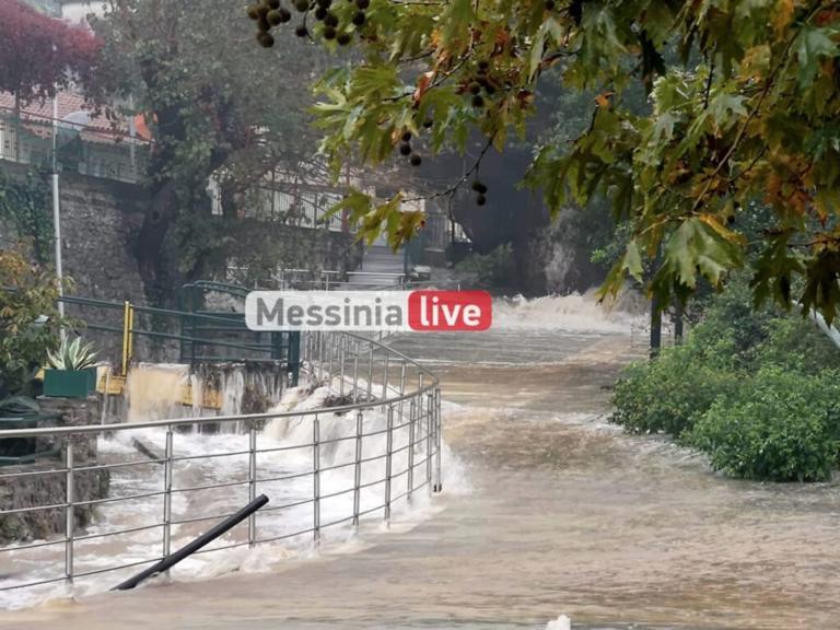 Μεσσηνία: «Πνίγηκε» ο κάμπος από τις βροχές – Ρεκόρ στα Αρφαρά – Απίστευτες εικόνες