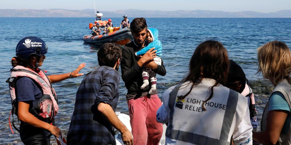 Σχεδόν 480 μετανάστες και πρόσφυγες έφτασαν σε νησιά του Αιγαίου το τελευταίο 24ωρο