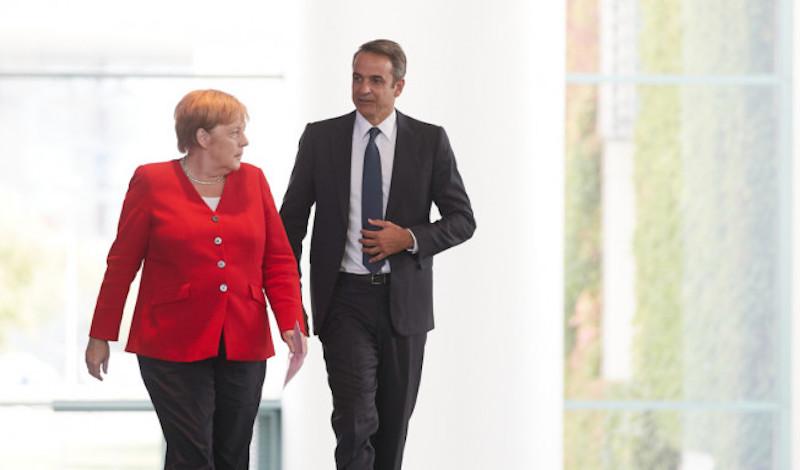 Το τηλεφώνημα της Μέρκελ στο κινητό του Μητσοτάκη: Τι συμφώνησαν οι δύο ηγέτες