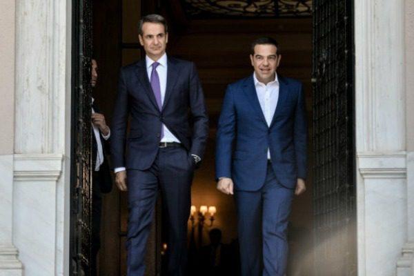 Η διαφορά ΝΔ ‑ ΣΥΡΙΖΑ σε νέα δημοσκόπηση