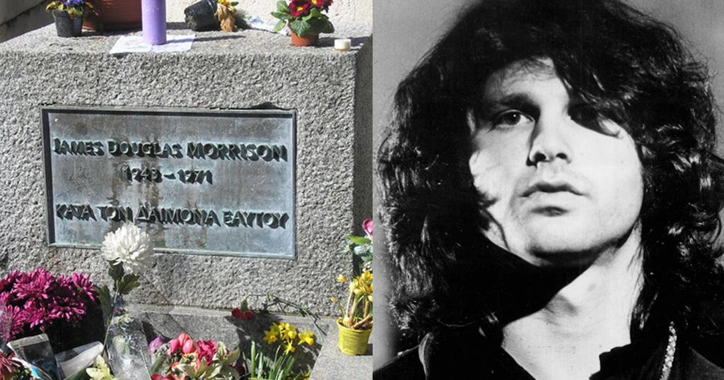 «Πράττω κατά τον δαίμονα εαυτού» Τι σημαίνει η ελληνική φράση στον τάφο του Τζιμ Μόρισον