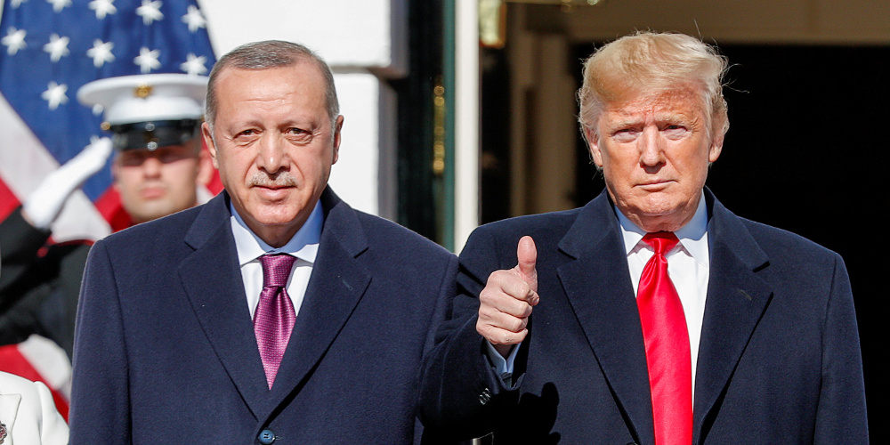 Τραμπ για επίστεψη Ερντογάν: Είμαστε καλοί φίλοι πολύ καιρό – Τι είπε κατά την υποδοχή του