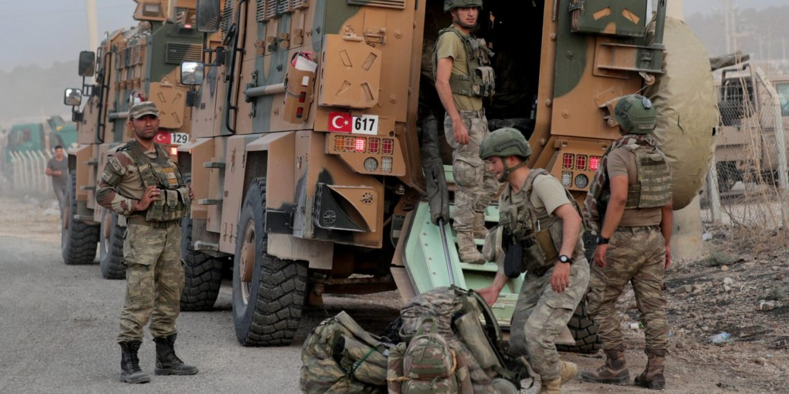 Συρία: Τουρκικές δυνάμεις «άνοιξαν πυρ» σε διαδηλωτές κατά τη διάρκεια περιπολίας [vid]