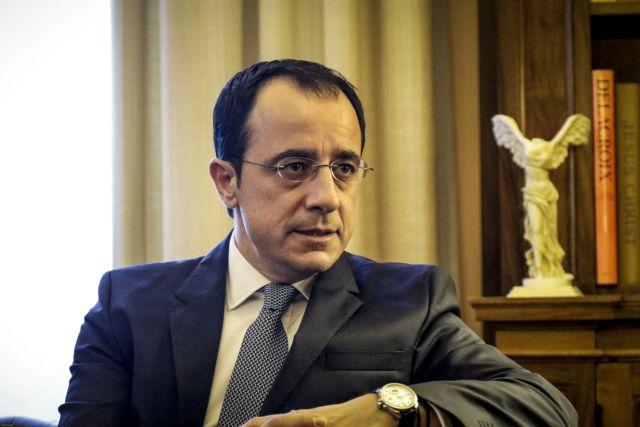 Χριστοδουλίδης: Σε τελικό στάδιο η διαμόρφωση καταλόγου για τις κυρώσεις κατά της Τουρκίας