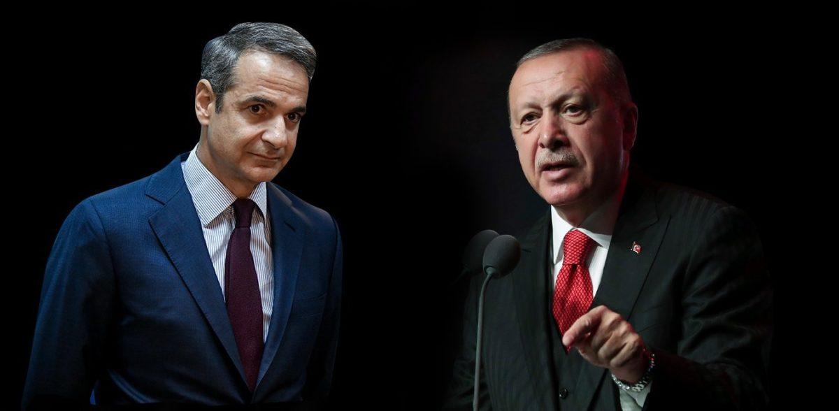 «Μαζευτείτε, γιατί θα έχετε συνέπειες» το μήνυμα Μητσοτάκη στη συνάντηση με Ερντογάν