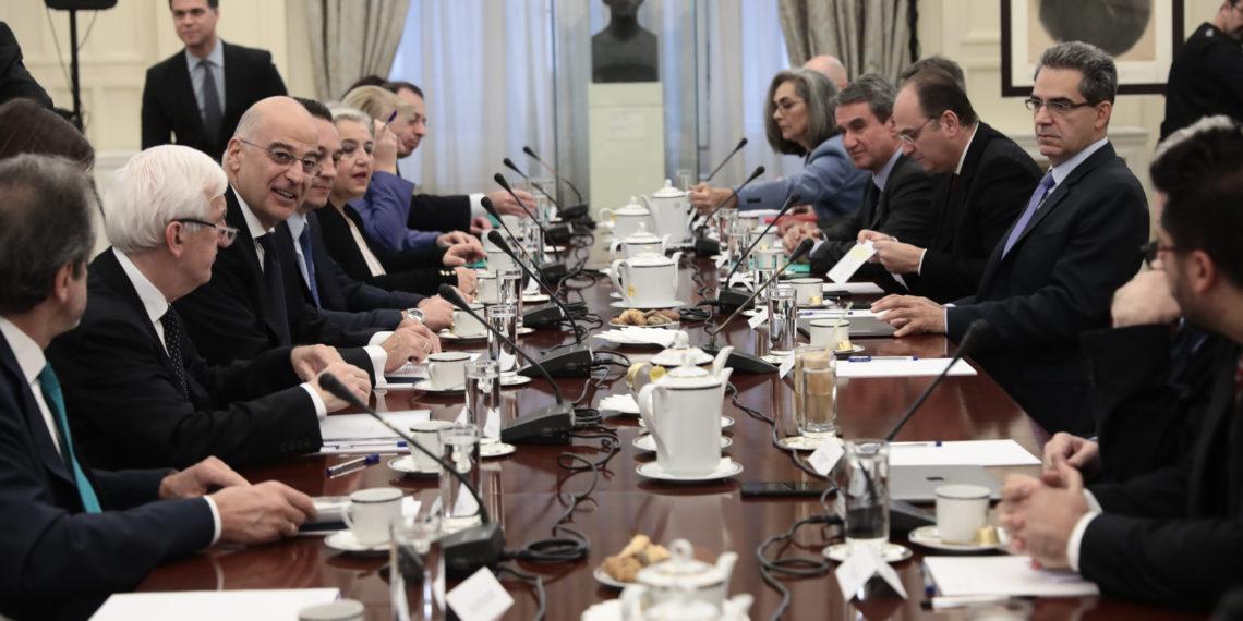 Ολοκληρώθηκε το Εθνικό Συμβούλιο Εξωτερικής Πολιτικής