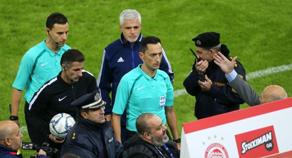 Ο ΠΑΟΚ καταγγέλλει εισβολή ανθρώπων του Ολυμπιακού στα αποδυτήρια των διαιτητών