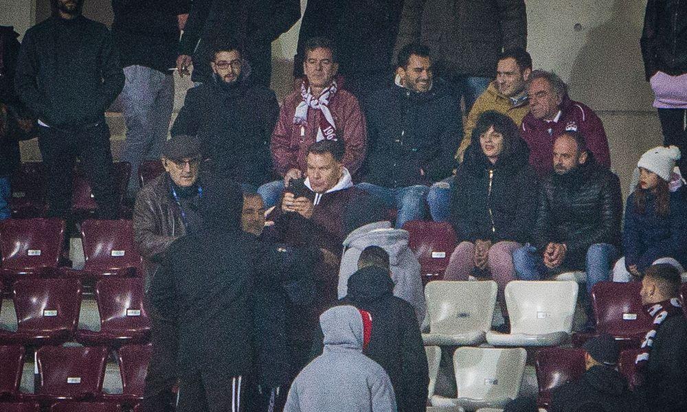 Οπαδοί επιτέθηκαν στον Κούγια στο ματς Κυπέλλου ΑΕΛ – Καλαμάτα (Photos – Video)
