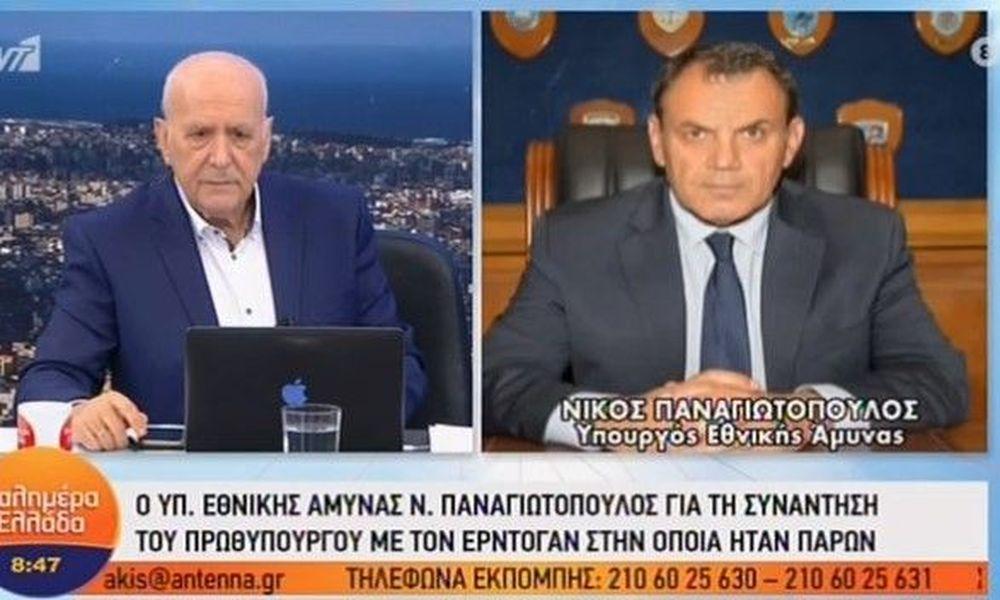 Παναγιωτόπουλος: Έτοιμοι για όλα τα ενδεχόμενα με την Τουρκία (Video)