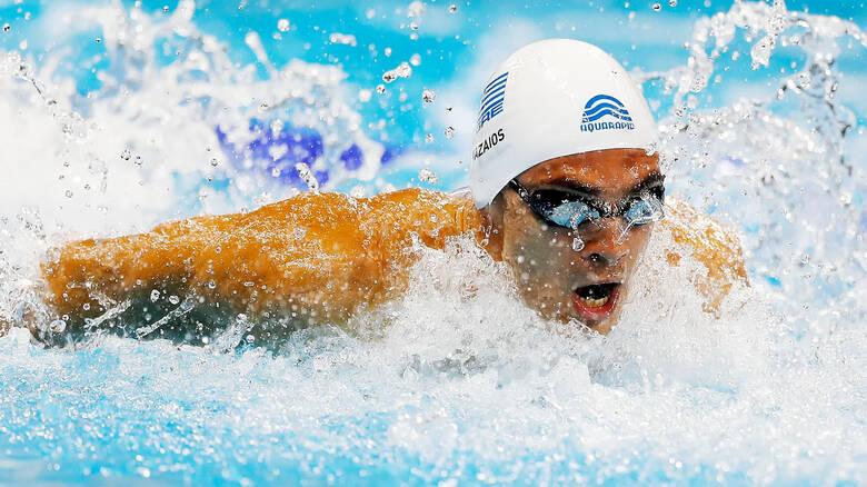 Ευρωπαϊκό Πρωτάθλημα Kολύμβησης: Στην κορυφή ο Βαζαίος με δύο μετάλλια – Χάλκινη και η Ντουντουνάκη