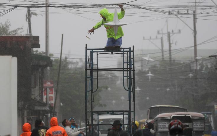 Φιλιππίνες: Δέκα οι νεκροί από τον τυφώνα Καμούρι