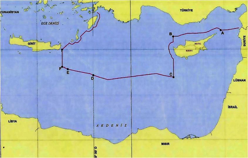 Έτσι «ονειρεύεται» τα θαλάσσια σύνορα στην Ανατολική Μεσόγειο η Τουρκία!