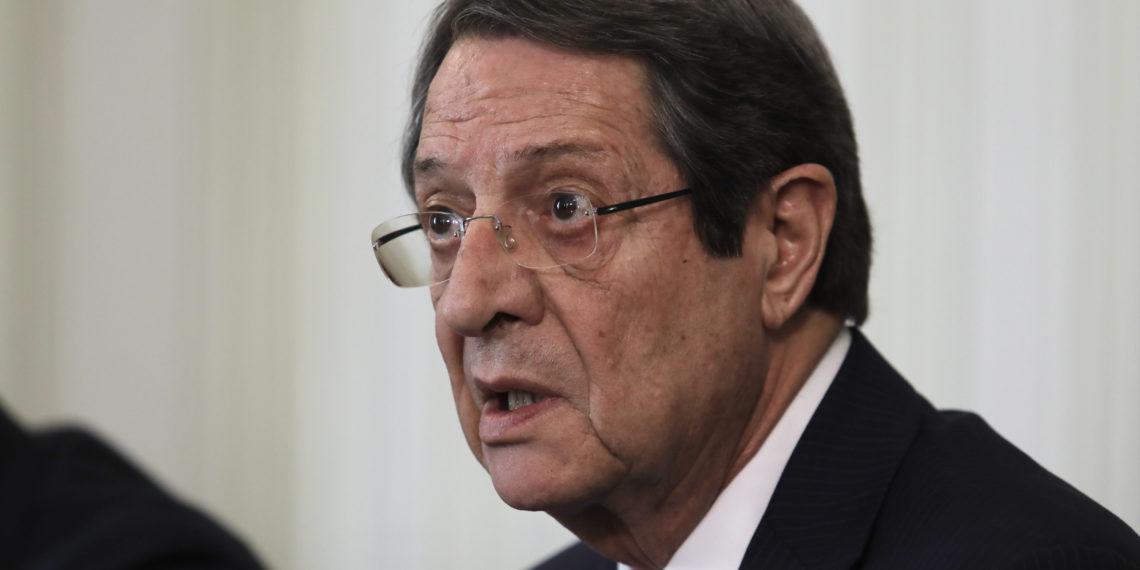 Αναστασιάδης: Η Κύπρος προσφεύγει κατά της Τουρκίας στο Δικαστήριο της Χάγης