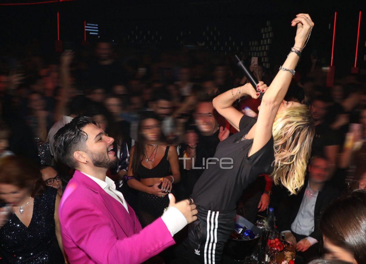 Άννα Βίσση: Τα «έσπασε» στον Χρήστο Μάστορα – Το παθιασμένο φιλί on stage [pics]