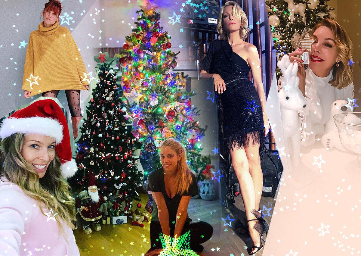 Τα πιο εντυπωσιακά χριστουγεννιάτικα δέντρα των Ελλήνων celebrities! Φωτογραφίες