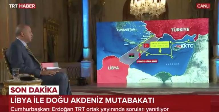 Και παρουσιαστής ο Ταγίπ Ερντογάν – Προκάλεσε την Ελλάδα χωρίς έλεος