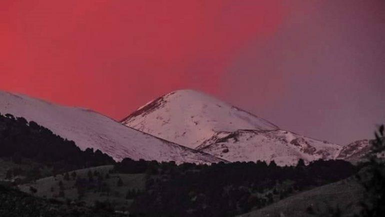 Μια…ονειρική εικόνα της χειμωνιάτικης Κρήτης