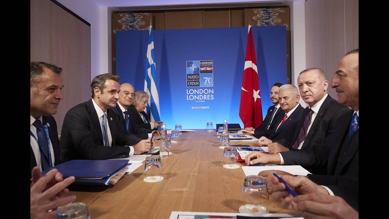 Ολοκληρώθηκε η συνάντηση Μητσοτάκη – Ερντογάν: «Ανοιχτή αλλά και δύσκολη συζήτηση»