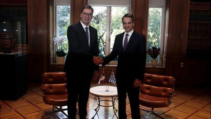 """Βούτσιτς: """"Η Σερβία στηρίζει την Ελλάδα για τα θαλάσσια σύνορά της"""""""