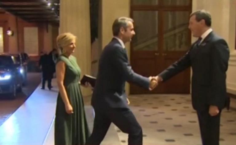 Στο Μπάκιγχαμ, έφτασε ο πρωθυπουργός, Κυριάκος Μητσοτάκης