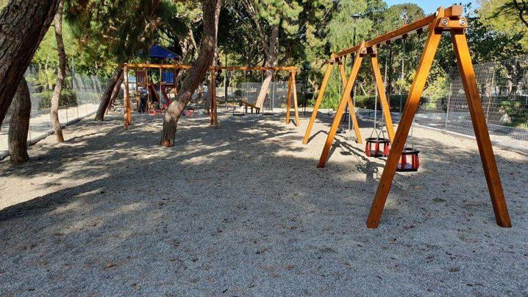 Παραδόθηκε ανανεωμένο, μέρος του Πάρκου Γεωργιάδη