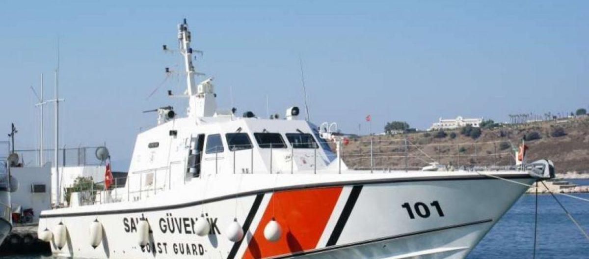 Η τουρκική ακτοφυλακή έστειλε πλοία στο κέντρο του Αιγαίου για την επιχείρηση διάσωσης των 14 ναυτικών