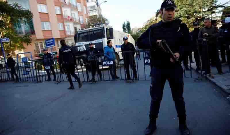 Πέντε Τζιχαντιστές ετοίμαζαν τρομοκρατικό χτύπημα στην Άγκυρα την παραμονή της Πρωτοχρονιάς