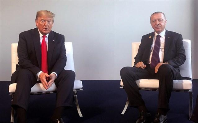 Συνάντηση Τραμπ – Ερντογάν στο περιθώριο της Συνόδου του ΝΑΤΟ