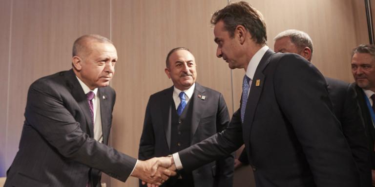 Συνάντηση Μητσοτάκη – Ερντογάν: Κατεγράφησαν οι διαφωνίες, συνεχίζονται οι συζητήσεις για τα ΜΟΕ